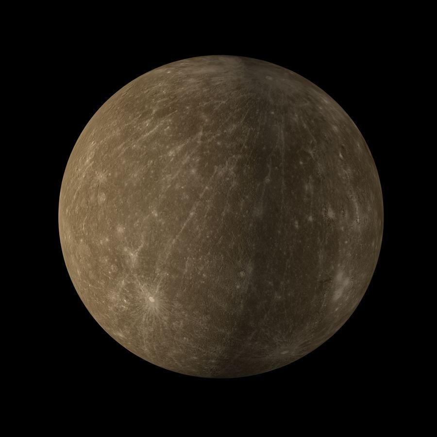 Mercury royalty-free 3d model - Preview no. 13