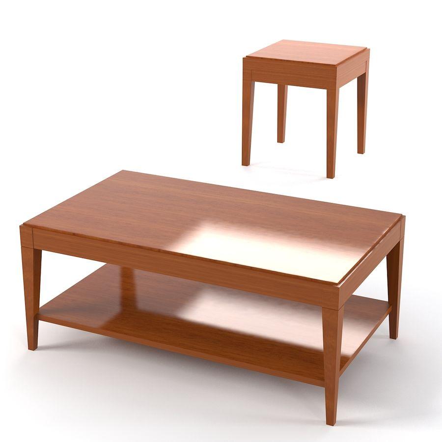 Selva Eleganza 3221 3218 Кофейный столик royalty-free 3d model - Preview no. 1