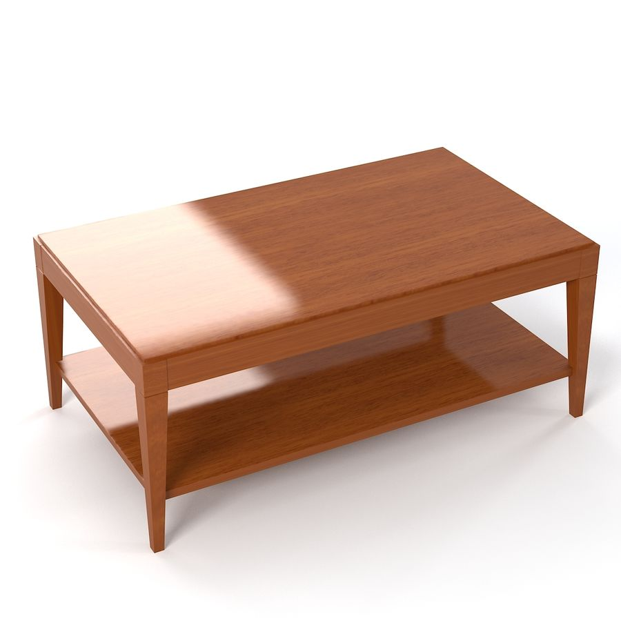Selva Eleganza 3221 3218 Кофейный столик royalty-free 3d model - Preview no. 2
