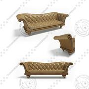 贝克·查茨沃斯·沙发 3d model