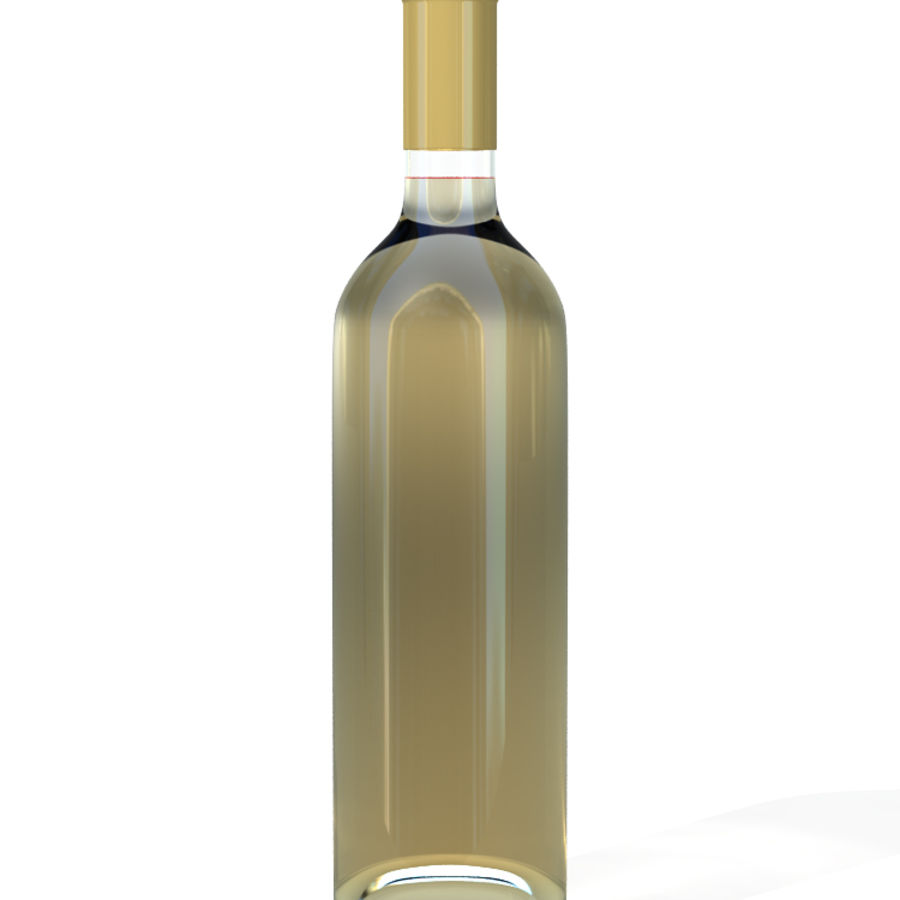 Wine Bottles royalty-free 3d model - Preview no. 5