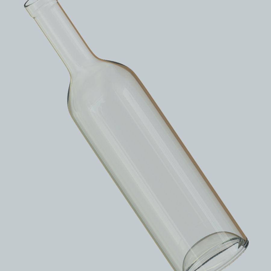 Wine Bottles royalty-free 3d model - Preview no. 9