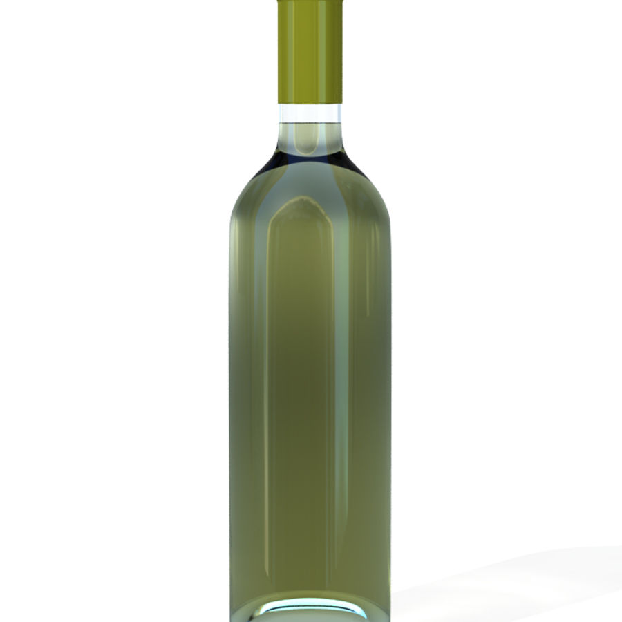 Wine Bottles royalty-free 3d model - Preview no. 3