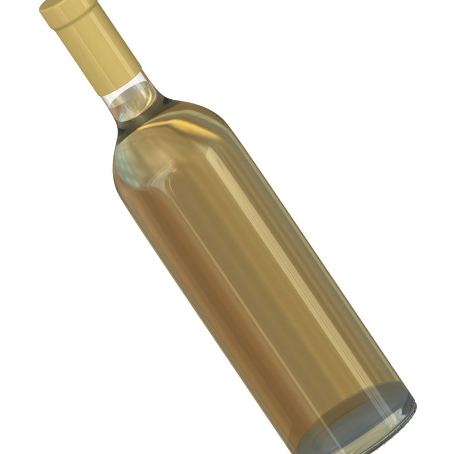 Wine Bottles royalty-free 3d model - Preview no. 2