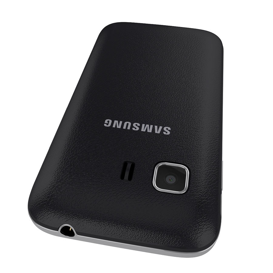 Samsung Galaxy Young 2 Smartphone 2014 royalty-free 3d model - Preview no. 5