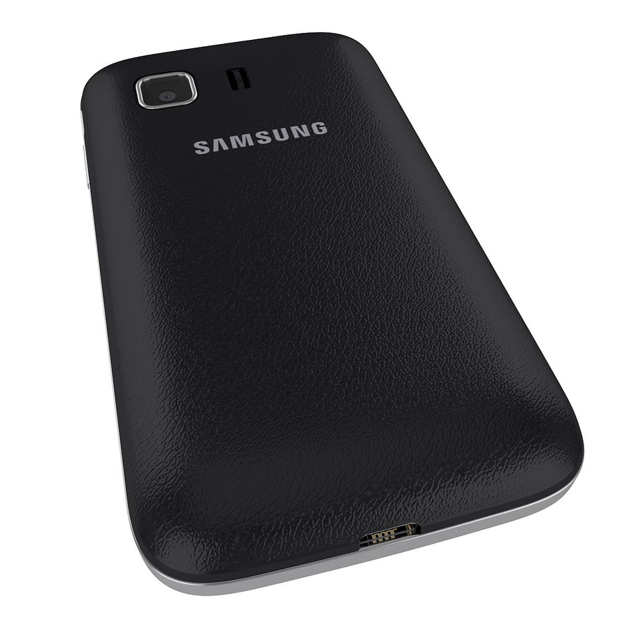 Samsung Galaxy Young 2 Smartphone 2014 royalty-free 3d model - Preview no. 6