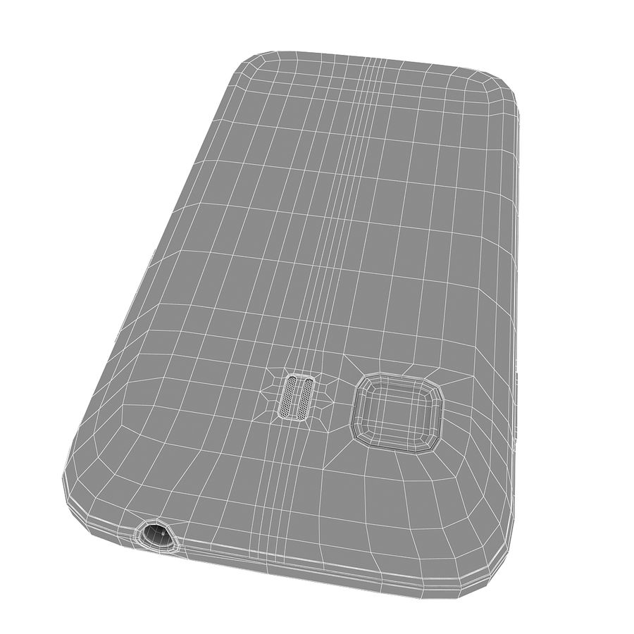 Samsung Galaxy Young 2 Smartphone 2014 royalty-free 3d model - Preview no. 13