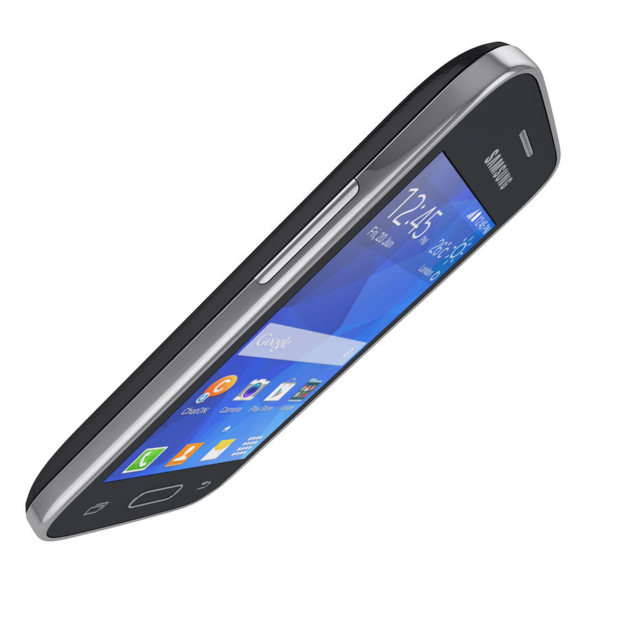 Samsung Galaxy Young 2 Smartphone 2014 royalty-free 3d model - Preview no. 8