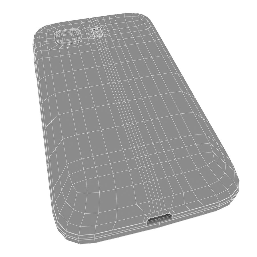 Samsung Galaxy Young 2 Smartphone 2014 royalty-free 3d model - Preview no. 14
