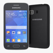 Smartphone Samsung Galaxy Young 2 2014 3d model