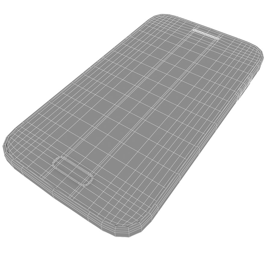 Samsung Galaxy Young 2 Smartphone 2014 royalty-free 3d model - Preview no. 11