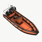Rib Boat 3d model