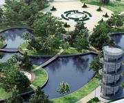 paysage du parc 3d model