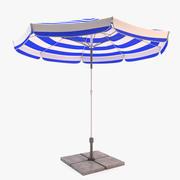 태양 우산 3d model