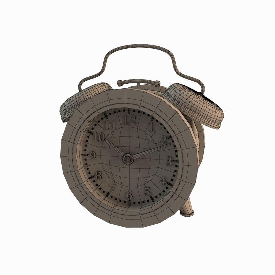Настольные часы royalty-free 3d model - Preview no. 7