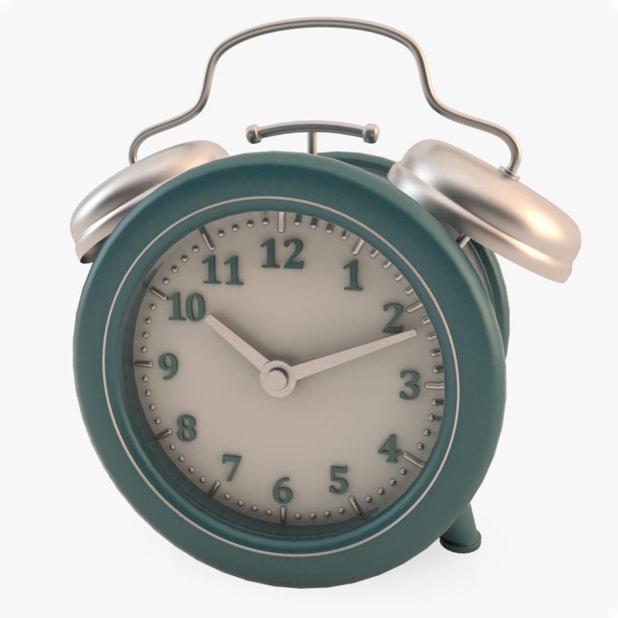 Настольные часы royalty-free 3d model - Preview no. 1