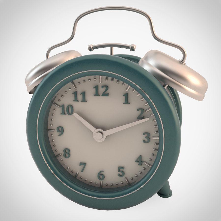 Настольные часы royalty-free 3d model - Preview no. 2