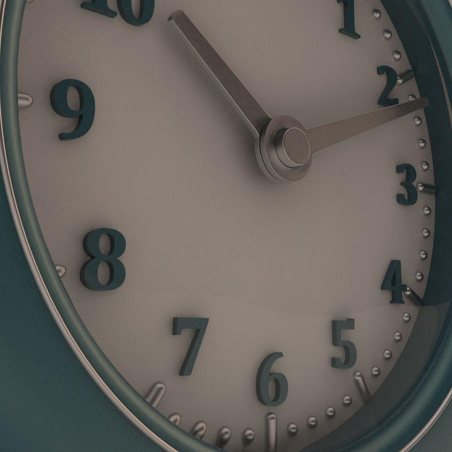 Настольные часы royalty-free 3d model - Preview no. 5