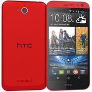 HTC Desire 616 Czerwony 3d model