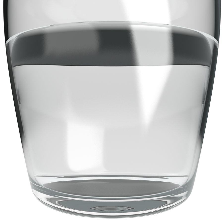 水デカンタとガラス royalty-free 3d model - Preview no. 10