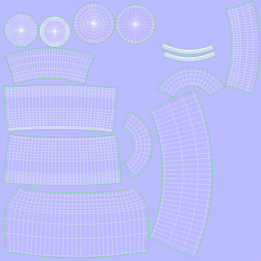Water Carafe and Glass royalty-free 3d model - Preview no. 16