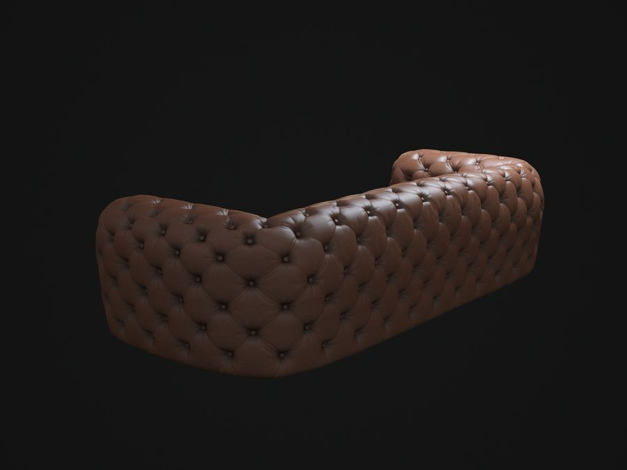 Chester-Moon-sofa royalty-free 3d model - Preview no. 4