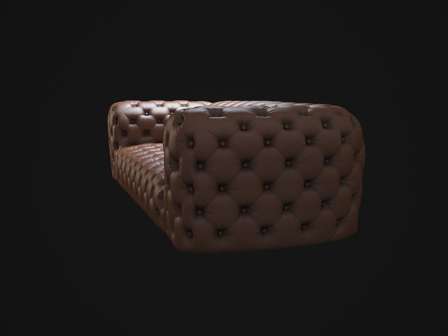 Chester-Moon-sofa royalty-free 3d model - Preview no. 7