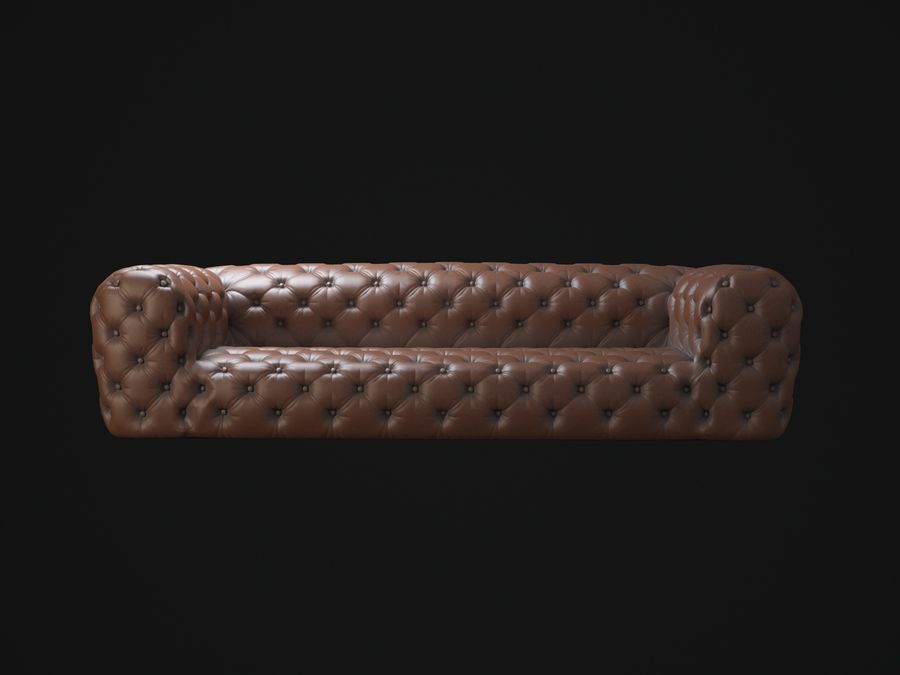 Chester-Moon-sofa royalty-free 3d model - Preview no. 2