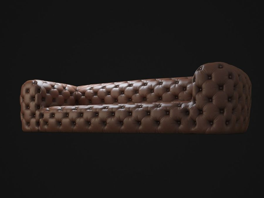 Chester-Moon-sofa royalty-free 3d model - Preview no. 8
