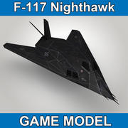 F117 Nighthawk - Spelmodell 3d model