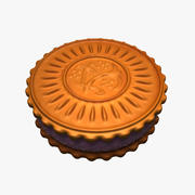 Galleta Dulce (1) modelo 3d