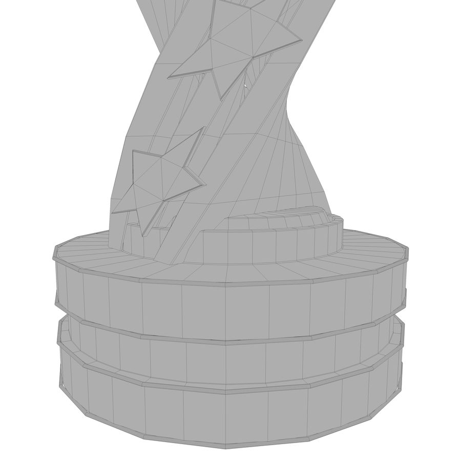 Trophy royalty-free 3d model - Preview no. 17