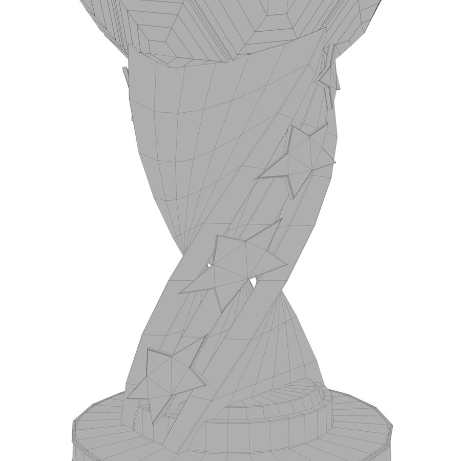 Trophy royalty-free 3d model - Preview no. 16