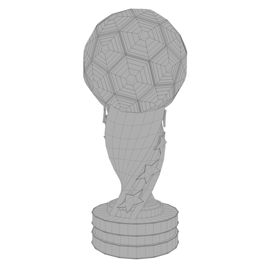 Trophy royalty-free 3d model - Preview no. 14