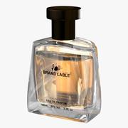 Generic Luxury Thick Glass Perfume Bottle Visualization 3d model