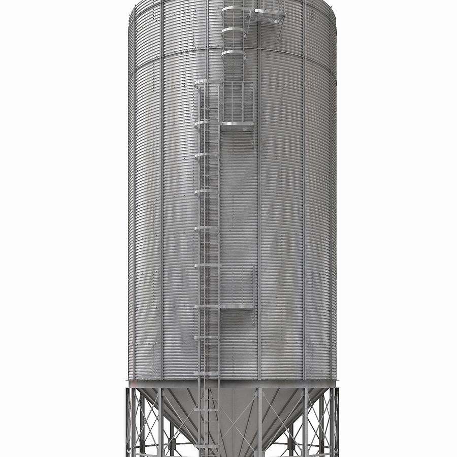 Silo royalty-free 3d model - Preview no. 1
