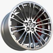 Колесо Gpower Vorlage Silvertone издание 3d model