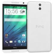 HTC Desire 610ホワイト 3d model