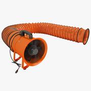 便携式呼吸机01 3d model