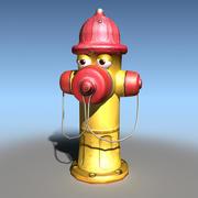 Cartoon Hydrant 3d model