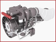 Apache Helicopter Engine 3d model