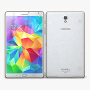 Samsung Galaxy Tab S 8.4 & LTE Dazzling White 3d model