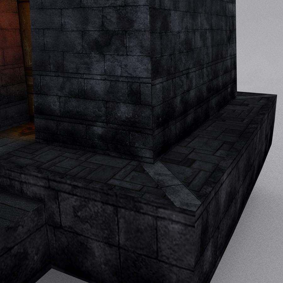 Kasteeltoren royalty-free 3d model - Preview no. 8