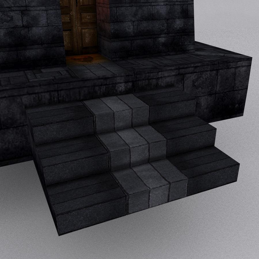 Kasteeltoren royalty-free 3d model - Preview no. 5