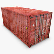 Container 20ft (Old) 3d model