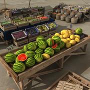 Market Place 3d model