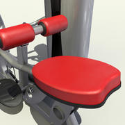 Gym Lat Pulldown 3d model