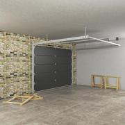 Gesegmenteerde garagedeur 3d model