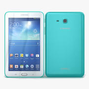 Samsung Galaxy Tab 3 Lite 7.0 & 3G Green 3d model