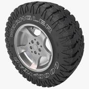 Goodyear Wrangler Tire 3d model
